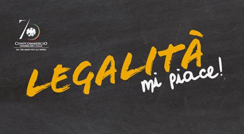 """CONFCOMMERCIO: IL 25 NOVEMBRE LA GIORNATA DI MOBILITAZIONE """"LEGALITÀ MI PIACE"""""""